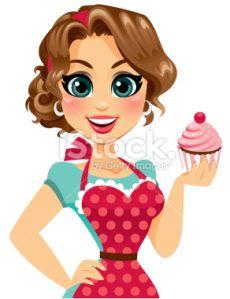 Cute Cupcake Girl: Lauren Burke HeyHeyDesigns.com