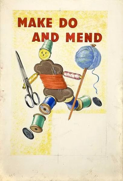 WW2 Make do and Mend poster