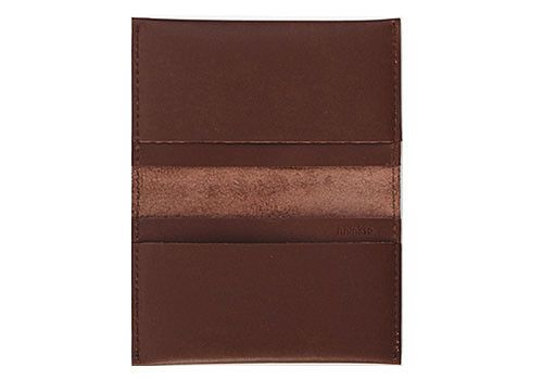This 4-pocket wallet is a pleasing combination of soft leather and simple, quality stitching.