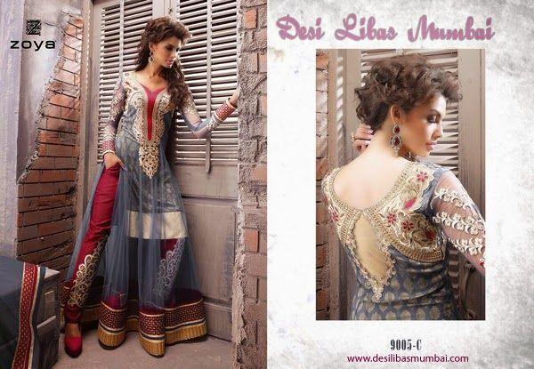 Designer Anarkali dress with Fine Embroidery Pick your piece from http://www.desilibasmumbai.com or inbox on facebook at DESI LIBAS MUMBAI or email us at desilibasmumbai16@gmail.com  #WomenDesignerclothing #Fashionwomenwear #buydesignerwomenwearonline
