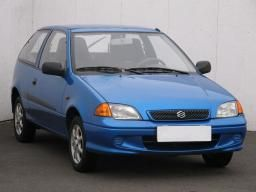 Suzuki Swift 2003 Hatchback modrá 9