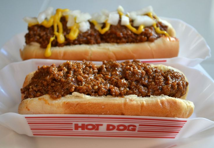 homemade hot dog sauce, cook-outs, hot dogs