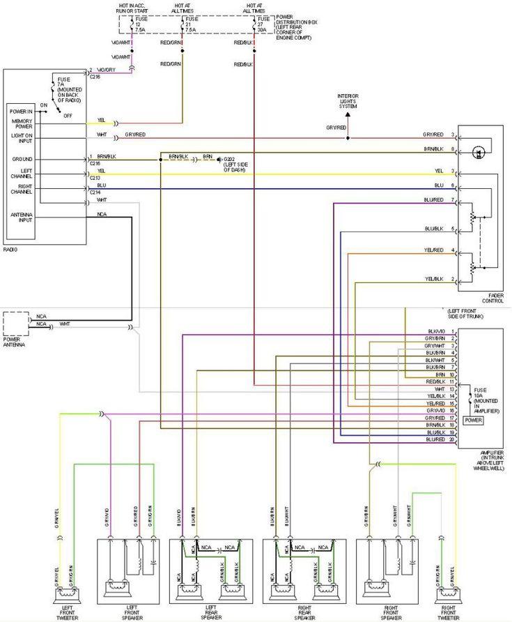 E30 Radio Wiring Diagram