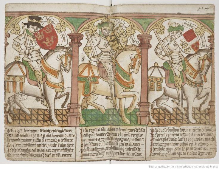 Armorial de GILLES LE BOUVIER, dit BERRY, héraut d'armes du roi Charles VII.   Gallica