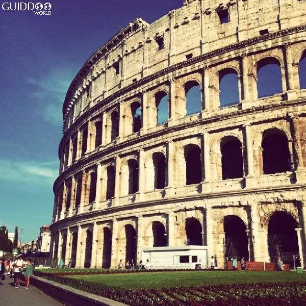 The Colosseum or Coliseum, also known as the Flavian Amphitheatre, is an elliptical amphitheatre in the centre of the city of Rome, Italy. Built of concrete and stone, it is the largest amphitheatre ever built and is considered one of the greatest works of architecture and engineering.