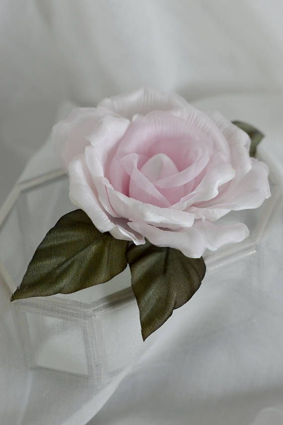 Blush Rose Hair Clip, Vintage Rose, Vintage Bride, Bridal Hair Flowers