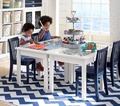 Superb Pottery Barn Kids Navy Chevron Rug   I WISH I Could Have This Rug. And That  Two Boys Wouldnu0027t Make The White Turn To Brown With Their Little Dirty  Stinky ... Good Looking