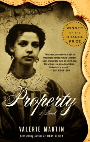 Valerie Martin's Property delivers an eerily mesmerizing inquiry into slavery's venomous effects on the owner and the owned. The year is 1828, the setting a Louisiana sugar plantation where Manon Gaudet, pretty, bitterly intelligent, and monstrously self-absorbed, seethes under the dominion of her boorish husband. In particular his relationship with her slave Sarah, who is both his victim and his mistress.
