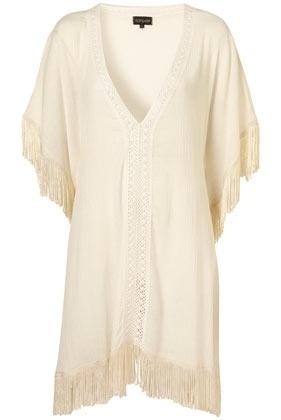 Cream Tassel Kaftan Cover Up - Swimwear - Clothing - Topshop USA - StyleSays