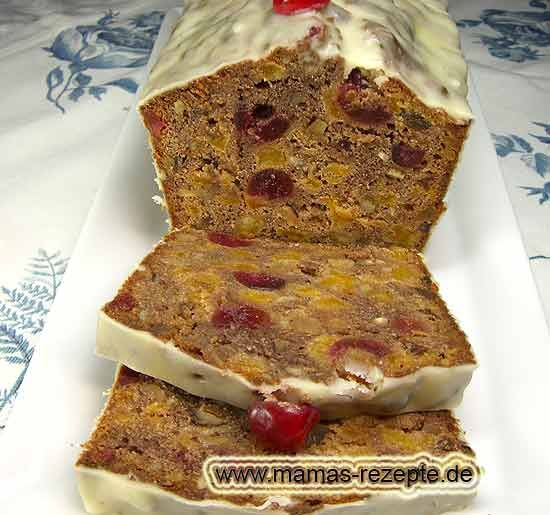 Rezept Irischer Früchtekuchen auf Mamas Rezepte Homepage