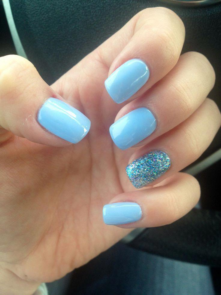 dippednails No chip nails, Short acrylic nails, Nail