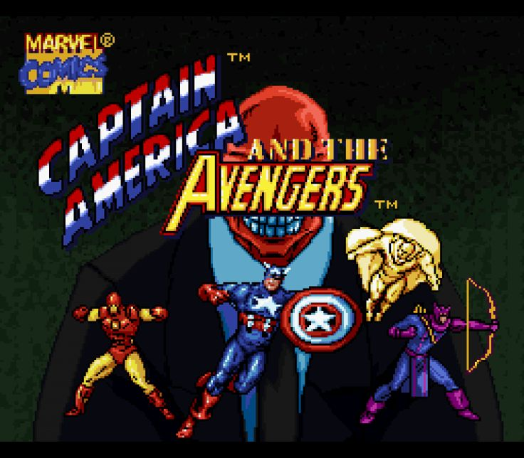 Captain America and The Avengers (U)