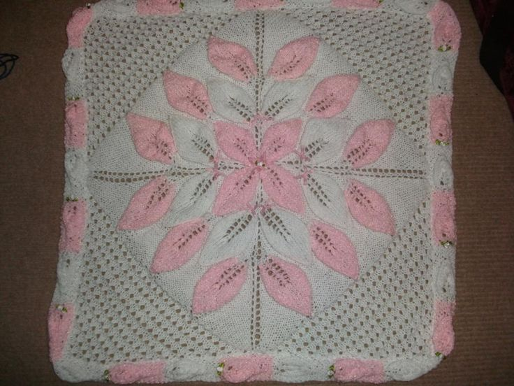 Pink Blanket - Knitting creation by mobilecrafts   Knit.Community