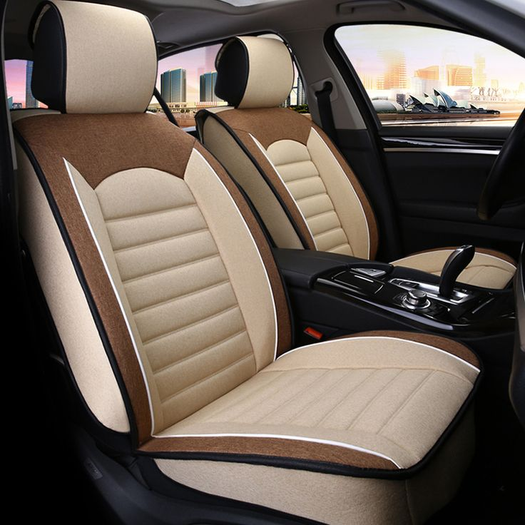 Cheap car seat cover, Buy Quality automobile seat covers directly from China fabric car seat cover Suppliers: 9PCS  Universal Automobiles Seat Covers Super Breathable Linen Fabric Car Seat Cover For Four Season Common  Accessories