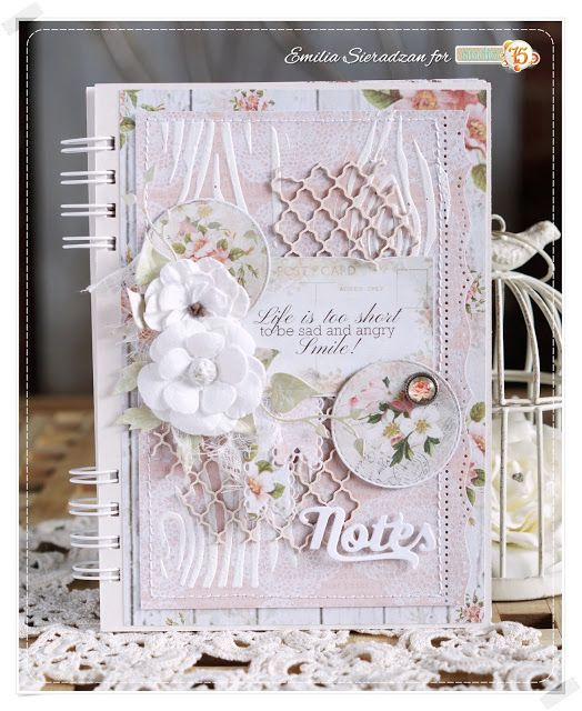 Romantyczny Notes / Romantic Notebook