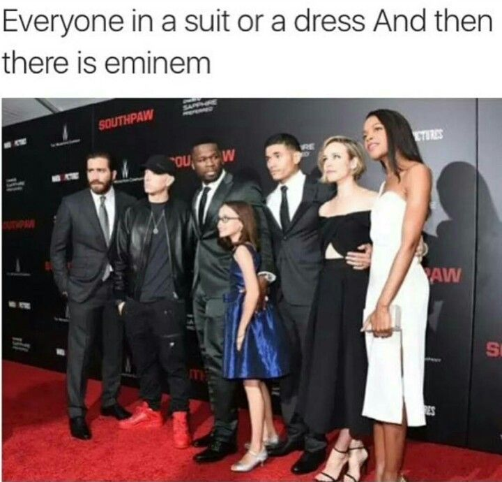 Eminem is just like me