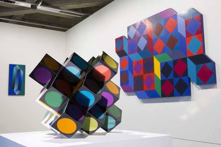 VICTOR VASARELY / OPTICAL PAINTINGS
