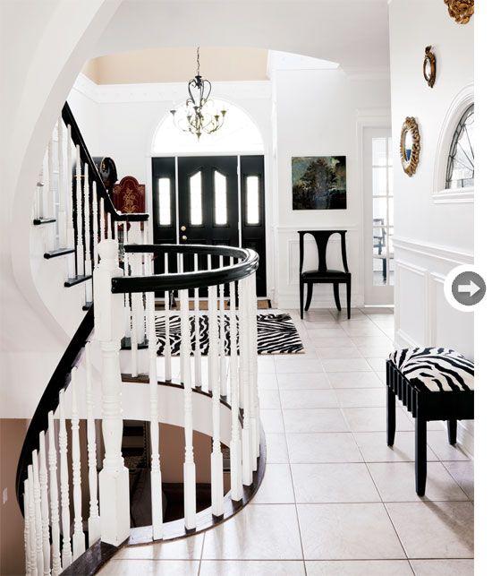 Black & White Decor- <3 this