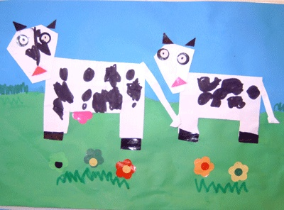 Koeien vouwen