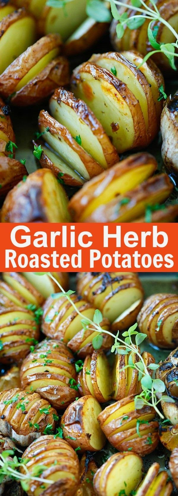 Get The Recipe Garlic Herb Roasted Potatoes @recipes_to_go