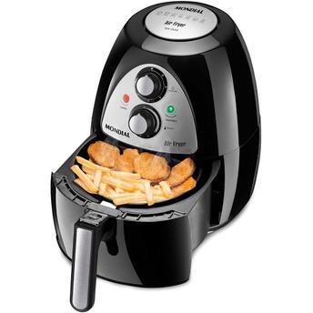 (Wal-Mart) Fritadeira Mondial Air Fryer AF - 03 4470 - 08 33821 - de R$ 575.34 por R$ 329.88 (43% de desconto)