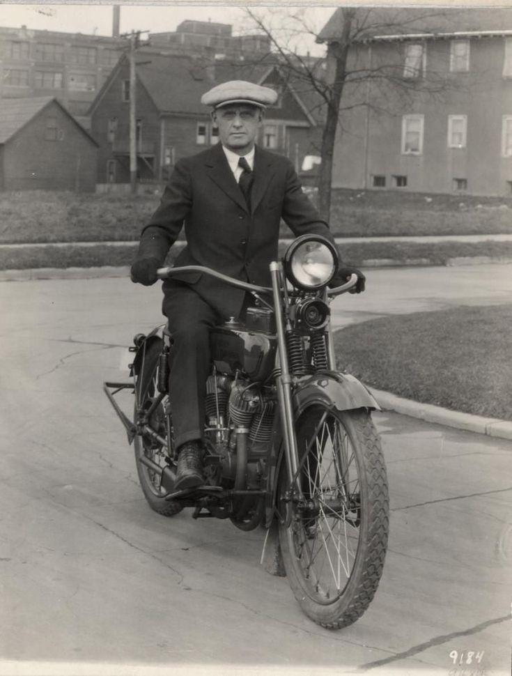 "William S. Harley-""One of Harley Davidson Motor Co.'s original founders."" The Harley in Davidson! #harleydavidsonchoppersoldschool"