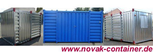 Gebrauchte Container - Gebrauchte Lagercontainer