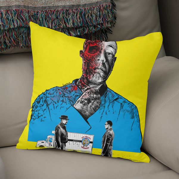 Discover «Breaking bad Gus Fring», Exclusive Edition Throw Pillow by Paola Morpheus - From 27€ - Curioos