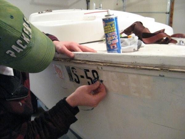 painting topside - O'day Mariner Sailboat Restoration