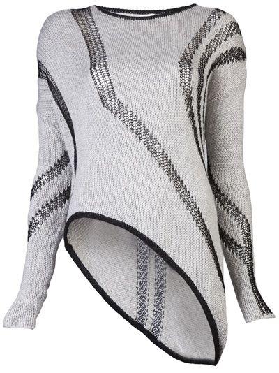 HELMUT LANG - Asymmetrical sweater