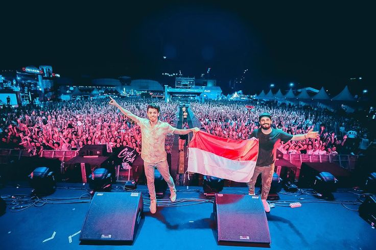 """14.3k Likes, 365 Comments - Cash Cash (@cashcash) on Instagram: """"🇮🇩 INDONESIA Happy Independence Day!! 🇮🇩 We can't wait to come back! You are truly UNBELIEVABLE!!…"""""""