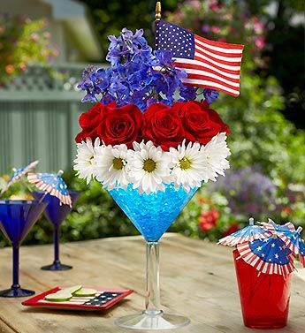 Red, White, and Bloom   4th of July Flowers   Petal Talk