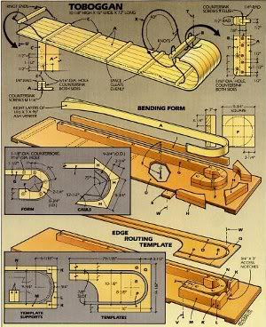 9 Free Snow Sled Plans: It's All Downhill From Here! |