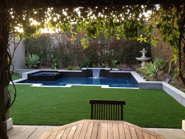 Our Synthetic Grass Never Requires Watering Mowing