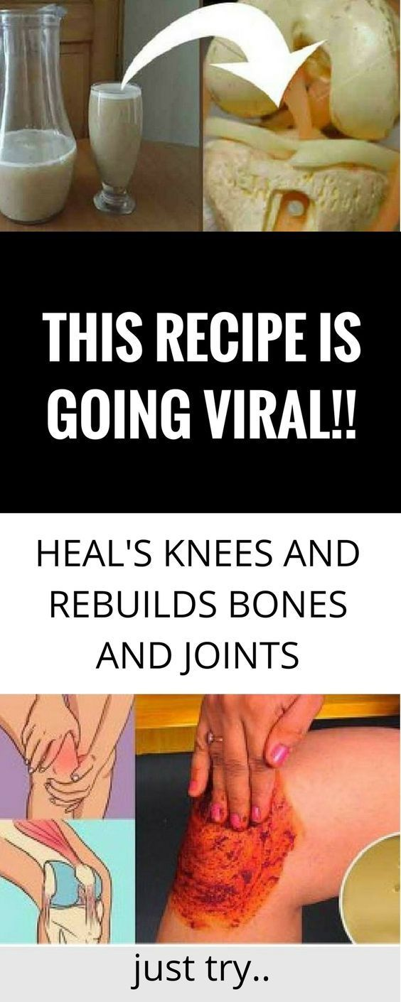 ewewewtrtrfdfdfrere THIS RECIPE IS GOING VIRAL!!! HEAL'S KNEES AND REBUILDS BONES AND JOINTS