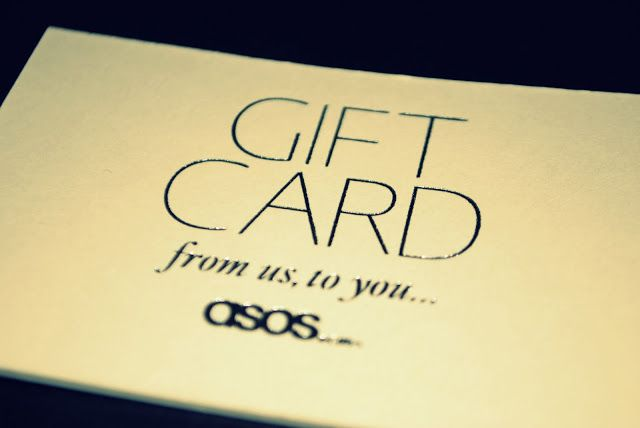 ASOS Voucher - I shop here a LOT! Click 'visit store' to go to ASOS.