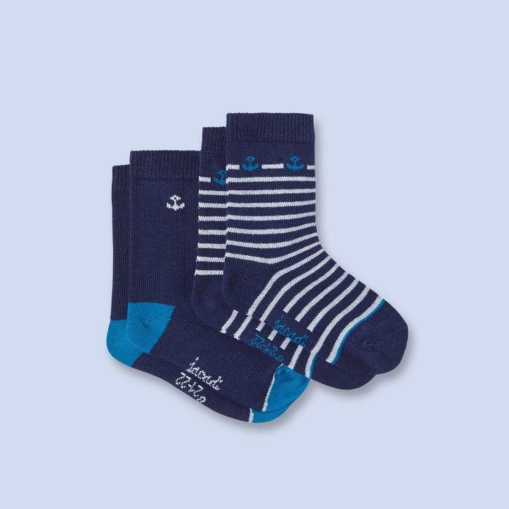 Nautical socks, pair of 2