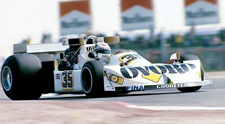 Arturo Merzario, Ovoro March-Ford 761, 1976 Spanish Grand Prix, Jarama