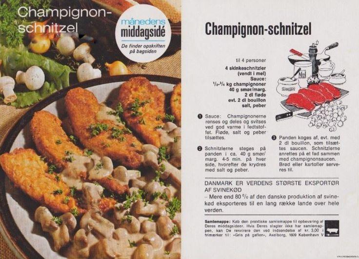 Champignon-schnitzel | Mors opskrifter