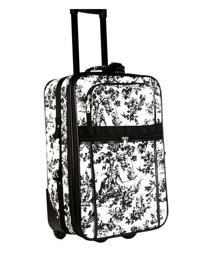 13 Non-Boring Carry-On Suitcase Designs: WORLD TRAVELER Expandable Carry On Rolling Luggager World Traveler offers dozens of designs for expandable carry-on suitcase options. With a price that won't break the bank – you can have one for every outfit!