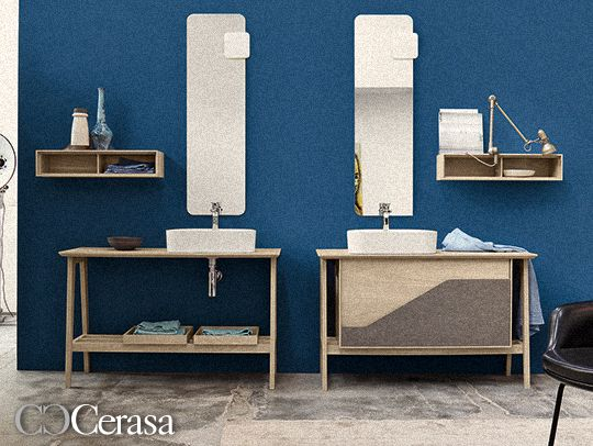 Italian Bathroom Furniture Manufacturers Cerasa Have Launched A New  Collection Called Free. Free Is A Modular Collection Of Flexible Bathroom  Furniture Ins
