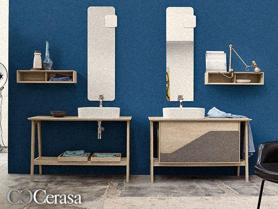 Cerasa riscopre il vintage color blu con il bagno Free. - http://blog.cerasa.it/2014/01/cerasa-riscopre-il-vintage-color-blu-con-il-bagno-free/