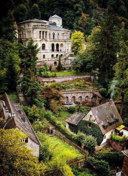 Heidelberg Castle, Germany  photo via rachel