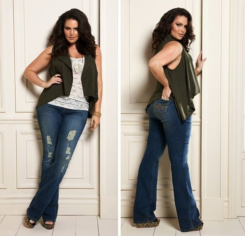 Beautiful. Love the vest- it's such a great accessory- pairs perfectly with those jeans and tee. :)