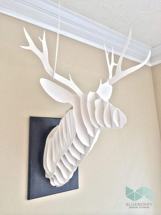 Must make faux deer head!