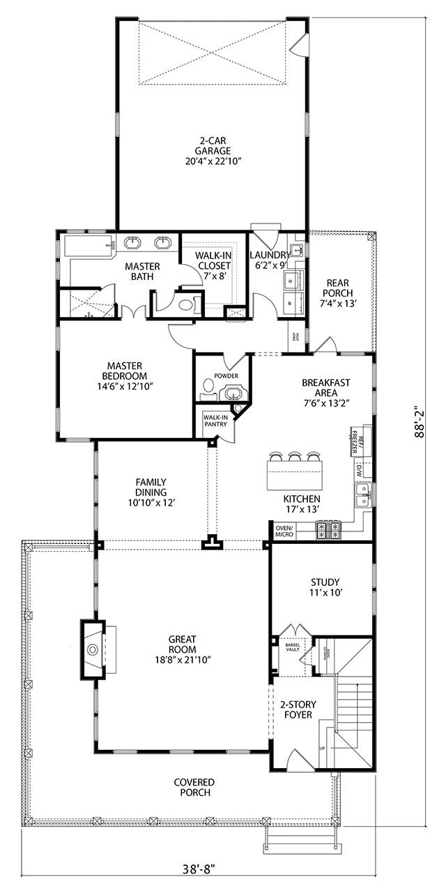 Pine View Retreat Southern Living House Plans Small