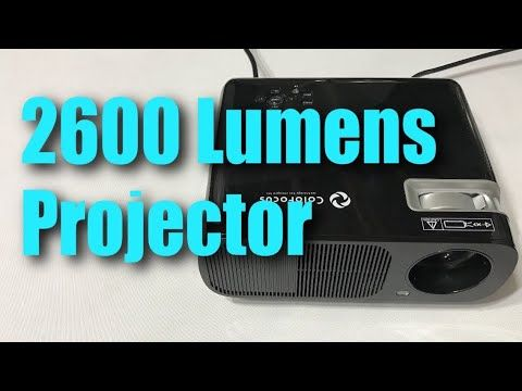 ColoFocus Portable 1080P HD 2600 Lumens LED Video Movie Theater Projector Review https://youtu.be/tsHMmqMExQ8