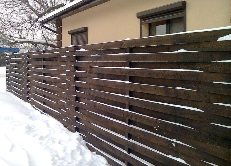 Деревянный забор | Крупный строительный портал | Все о строительстве