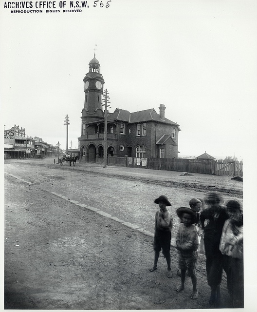 Rozelle Post Office, New South Wales by State Records NSW, via Flickr