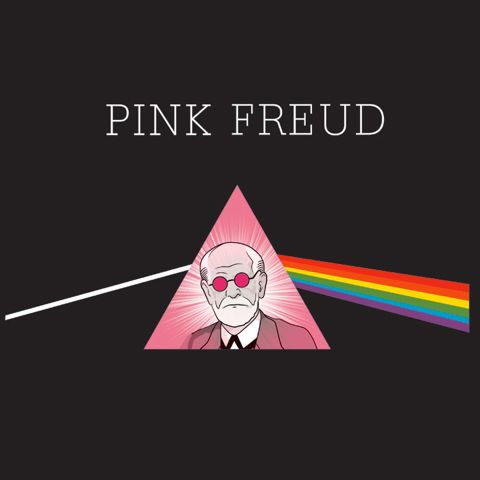 Pink Freud Shirt...okay, the psychology geek in me just sniggered.